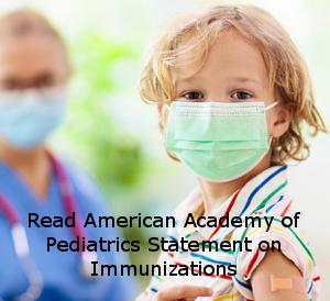 AAP statement on immunizations